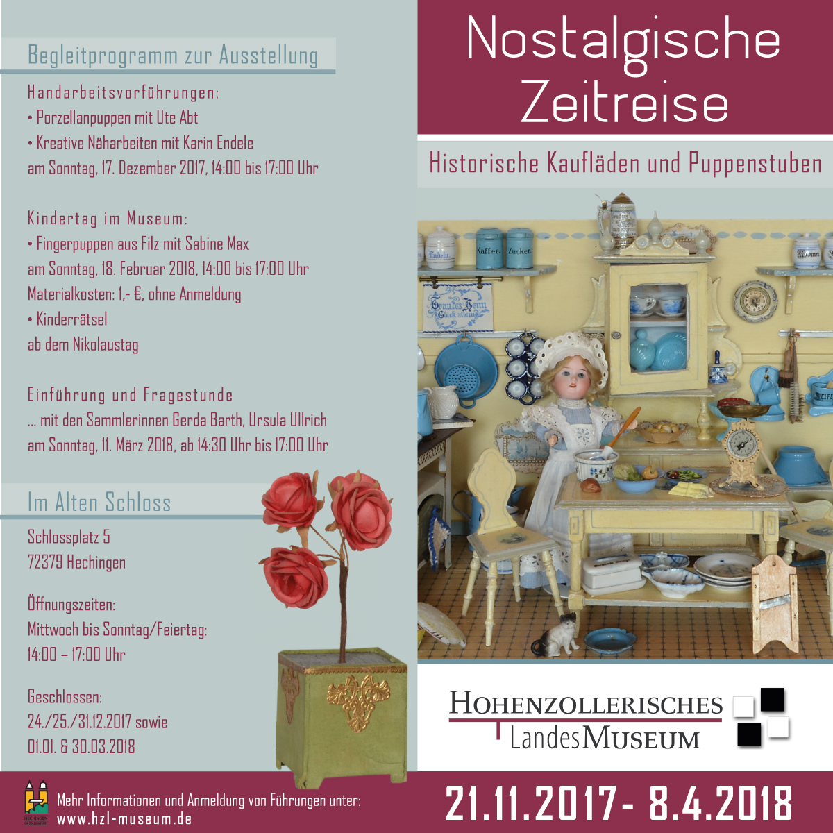 """Hohenzollerisches Landesmuseum - Sonderausstellung """"'Nostalgische Zeitreise"""""""