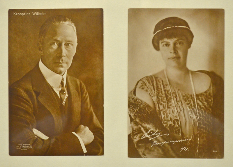 Kronprinz Wilhelm und Kronprinzessin Cecilie
