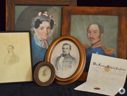 Objekte und Dokumente der Arztfamilie Koller