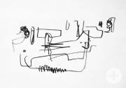 Schulkunstausstellung - Blindstudie (Locher)