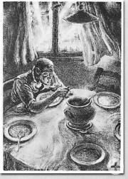 A. Paul Weber - Handzeichnungen und Lithografien