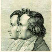 Doppelportät Jakob Wilhelm Grimm