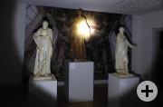 Nachts im Museum Heiligenfiguren
