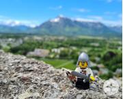 HZLM-Ritter auf der Burg