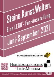 Plakat LEGO Ausstellung
