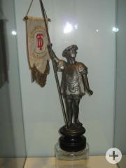 Tischbanner zum 40 jährigen Stiftungsfest der Damenriege des Turnvereins Hechingen 1924